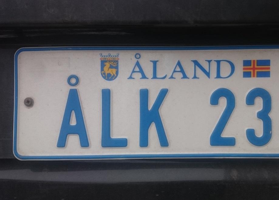 Kennzeichen Aland