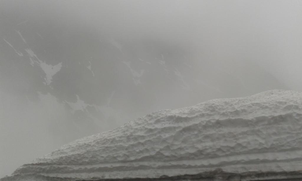 Schnee auf dem Timmelsjoch