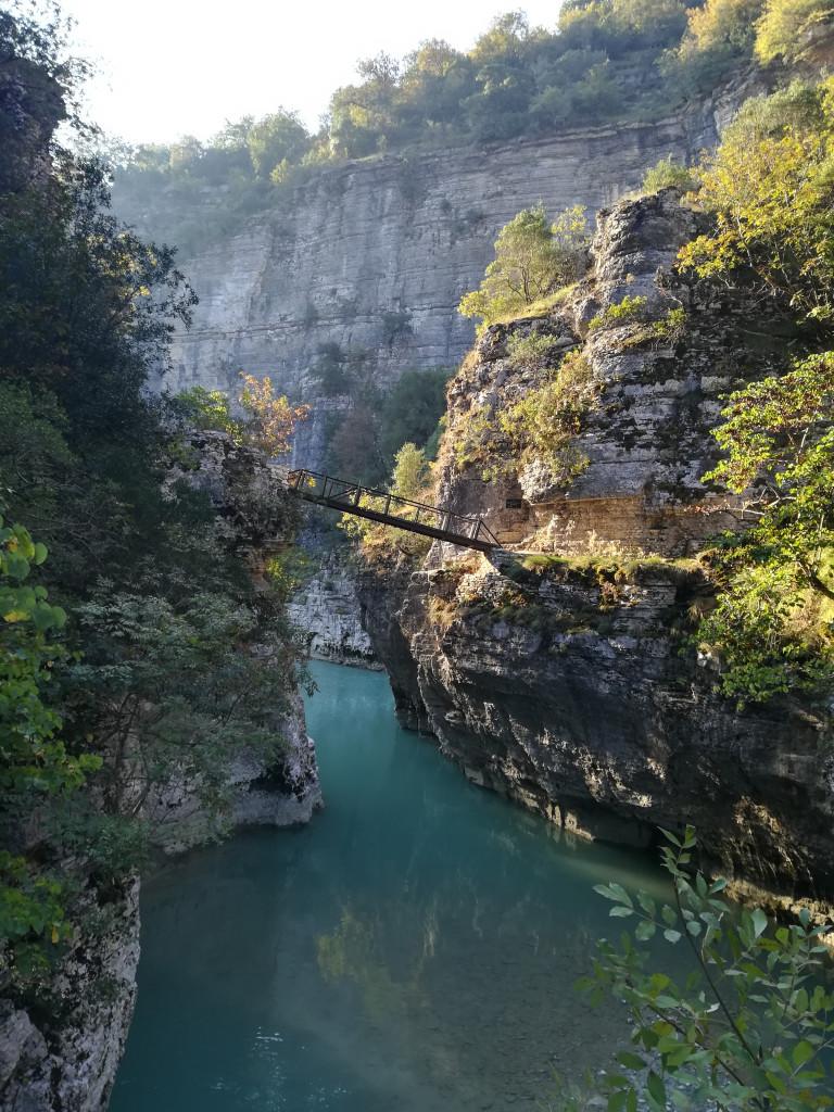 Osumi Canyon Albania