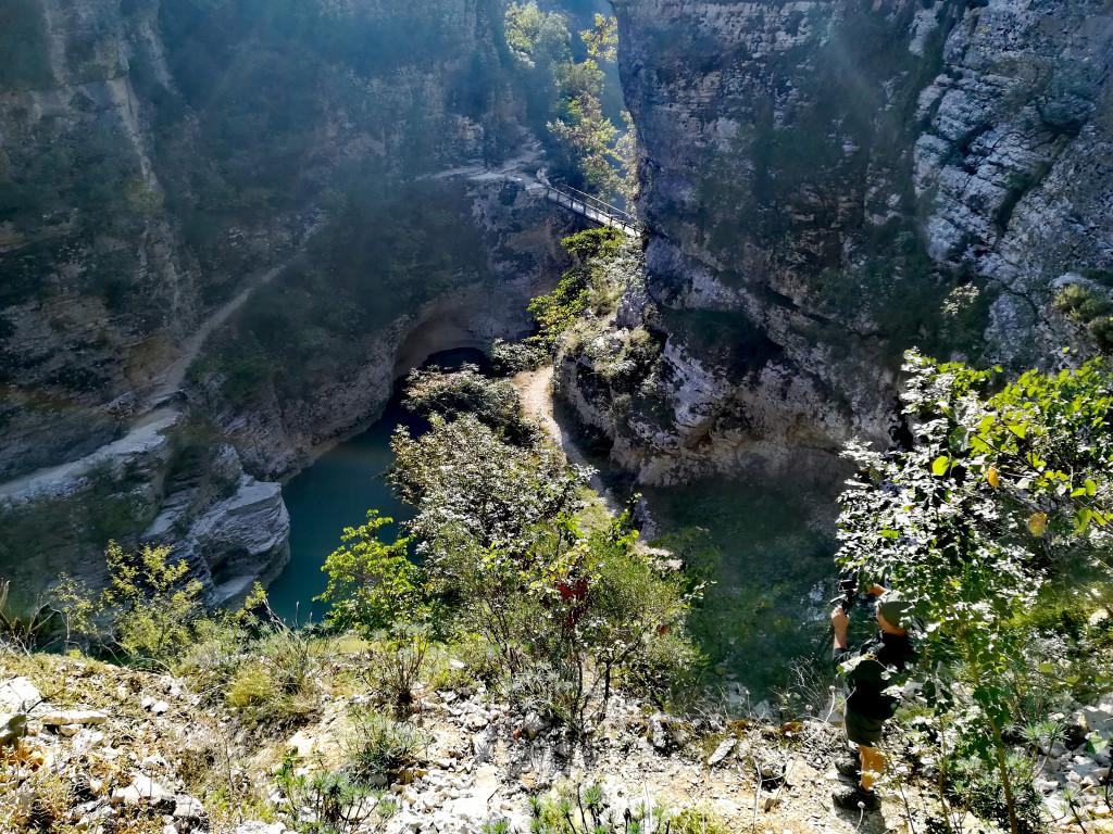 Osumi Canyon-Blick von oben