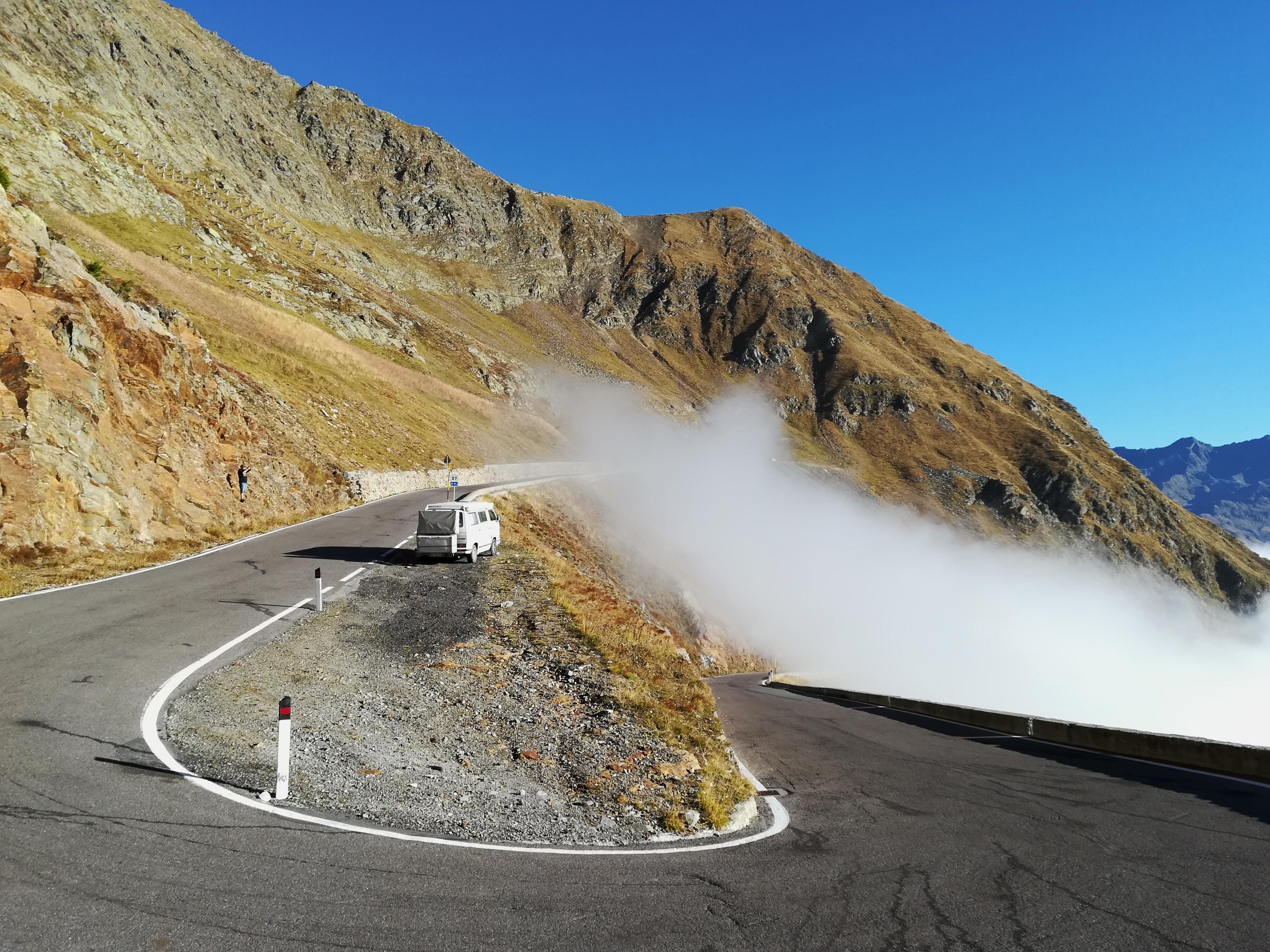 Timmelsjoch – Hochalpenstraße von Österreich nach Italien