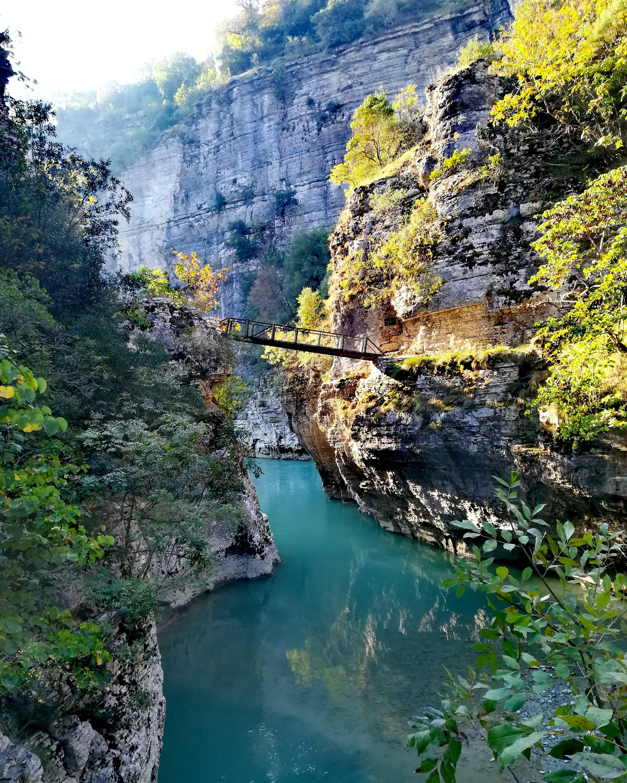 Osum Canyon Albanien