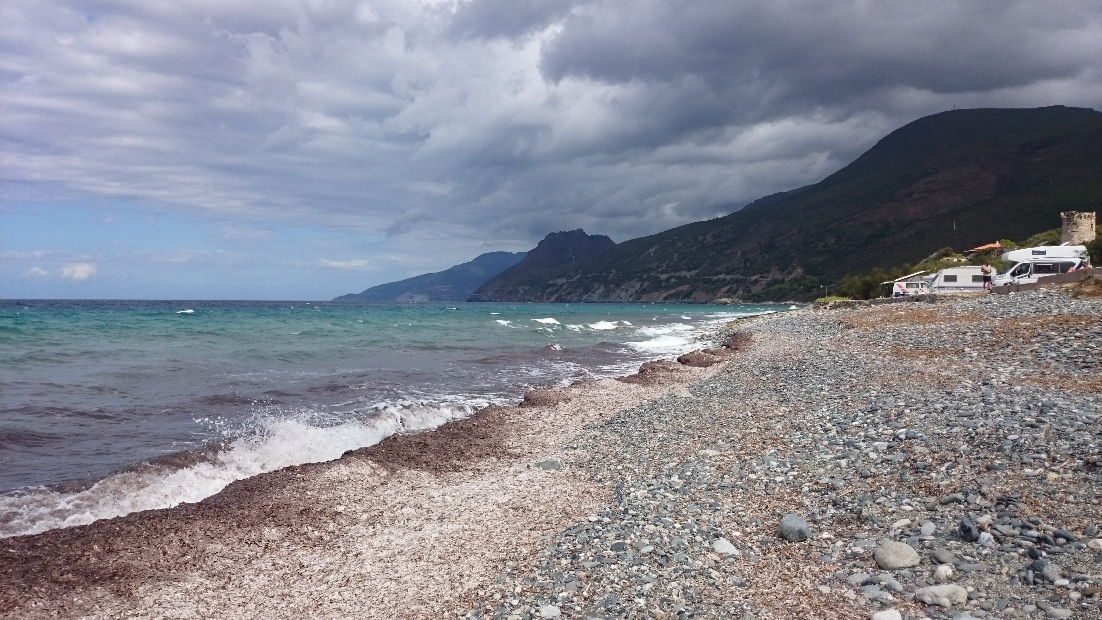Sturm am Cap Corse Korsika