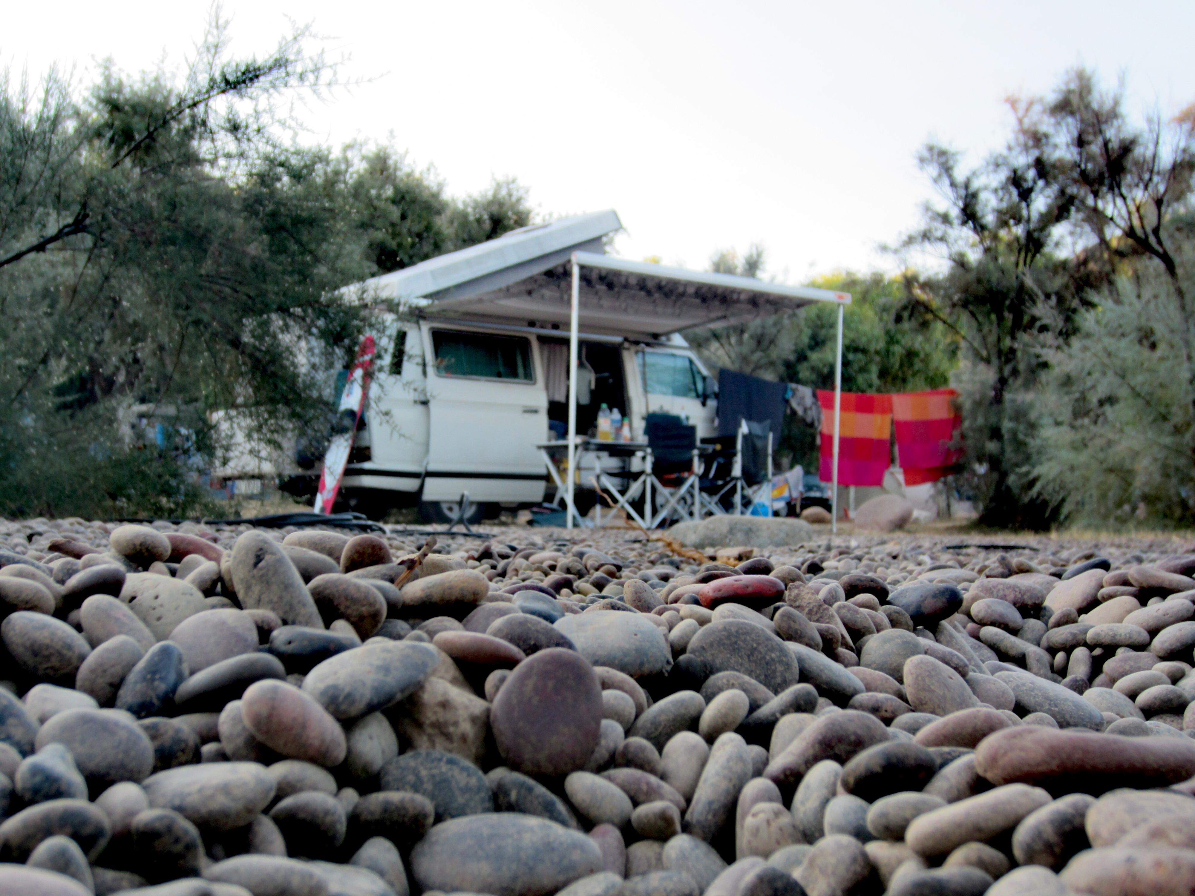 Camping am Argentella Strand an Korsikas Westküste