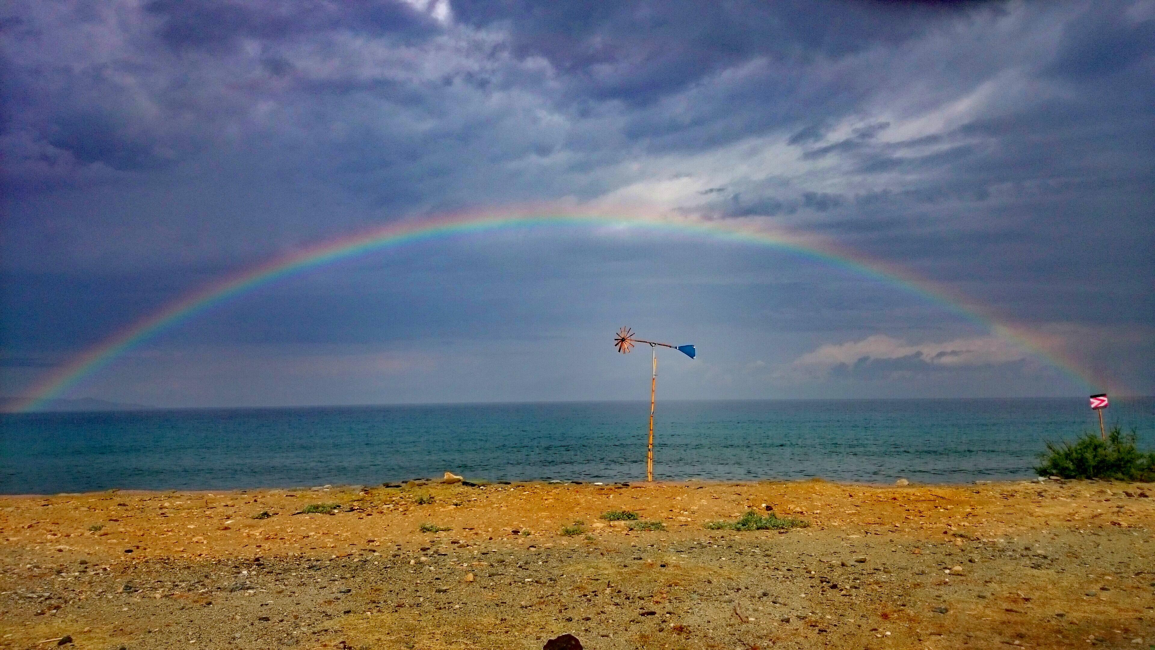 Regenbogen auf Korsika