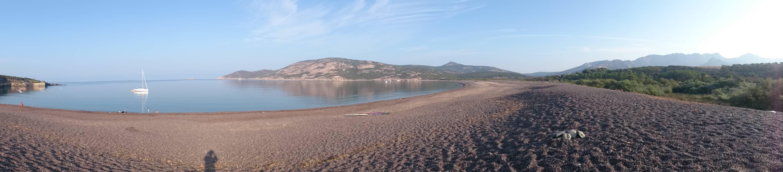 Argentella Strand und Campingplatz Korsika Westküste