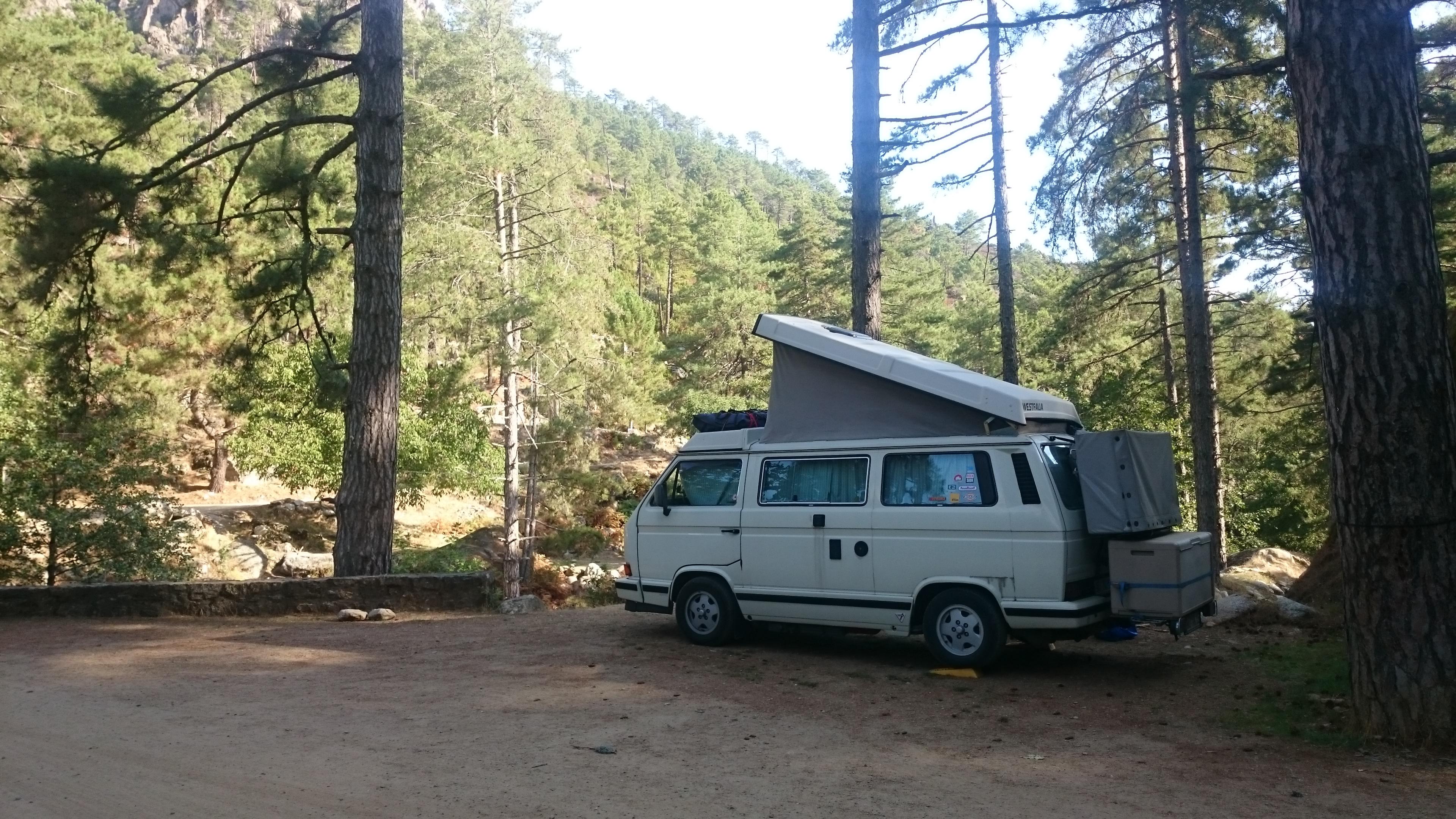 Campng Tuani Restonica Korsika