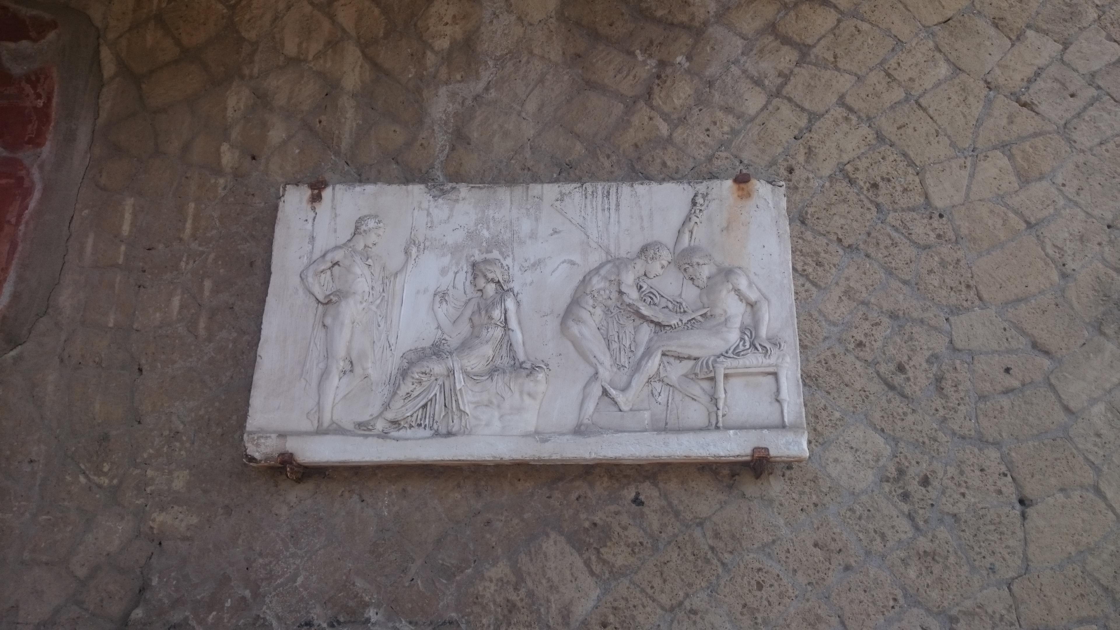 Herculaneum Ausgrabung