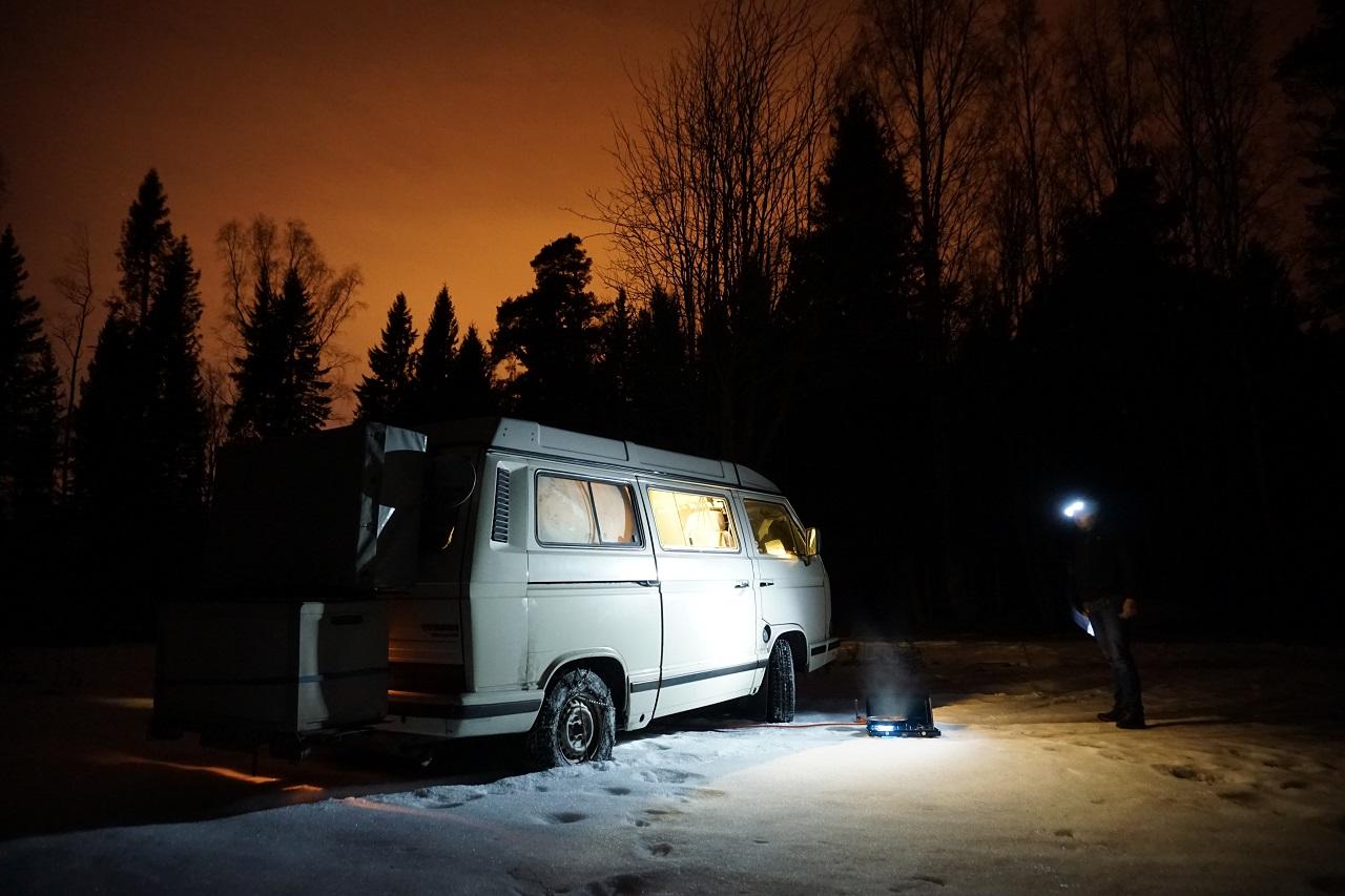 Winter im T3 in Schweden