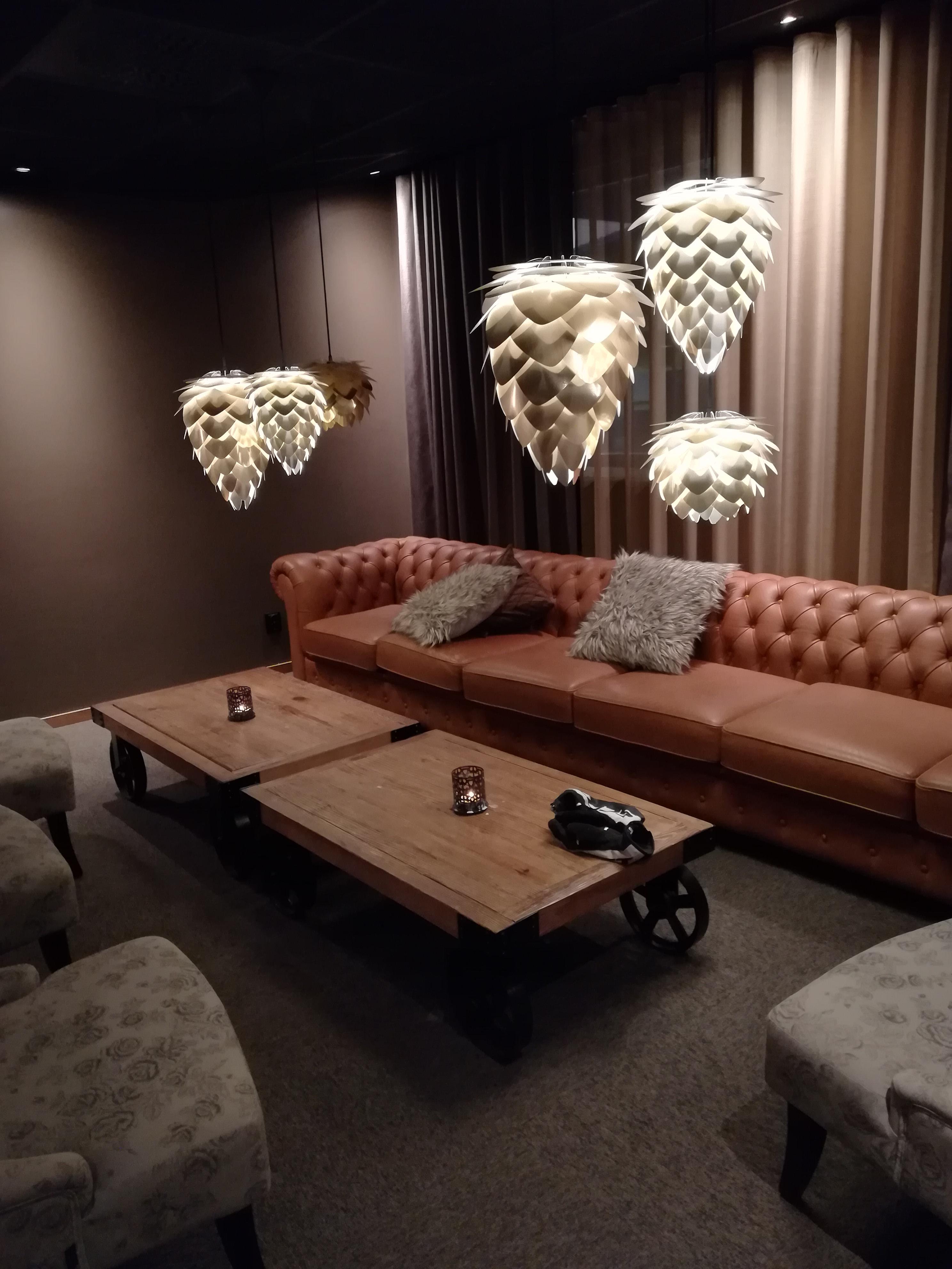 Lounge im Quality Hotel Skellefteå