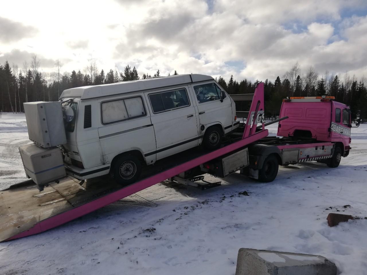 Abschleppen in Schweden