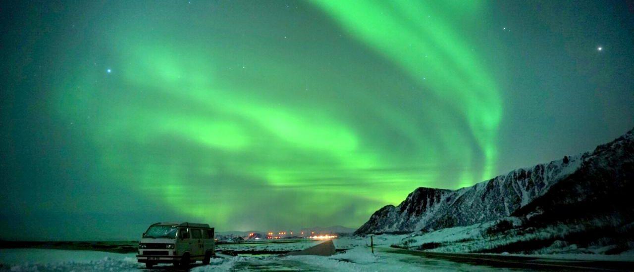 Polarlichter in Norwegen Vesteralen