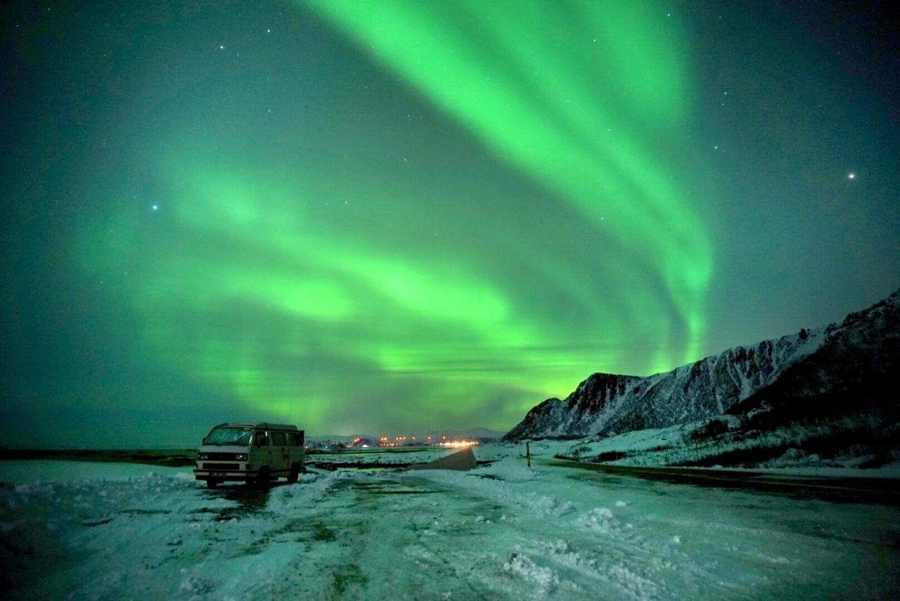 Polarlichter in Lappland und Norwegen