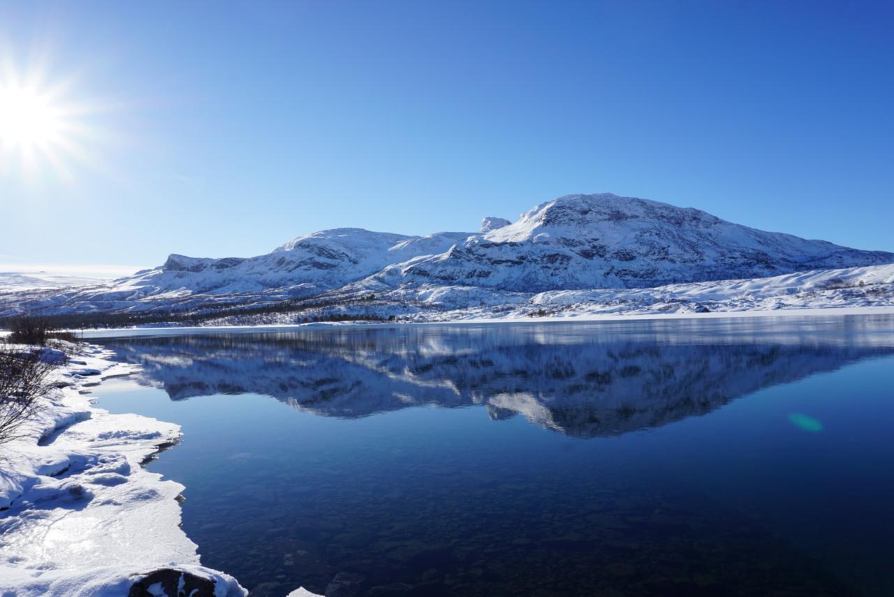 Stora Sjöfallet Nationalpark Laponia
