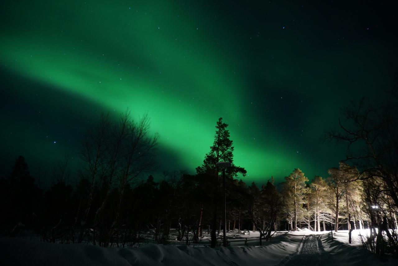 Aurora Nordlichter Schweden