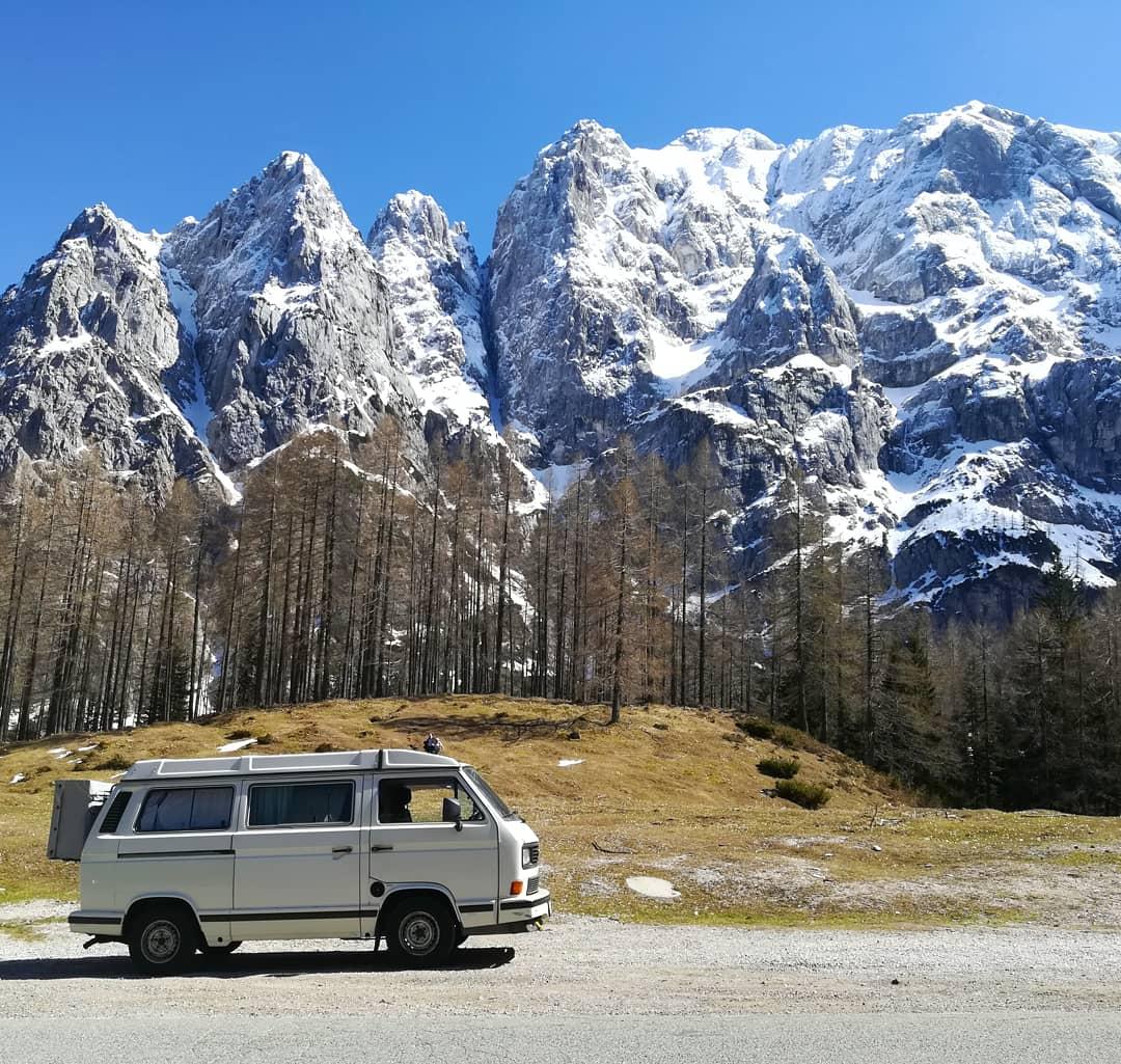VW T3 Triglav Gebirge Slowenien