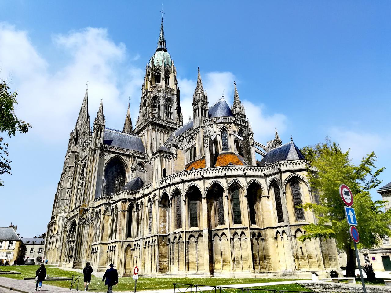 Kathedrale von Bayeux in der Normandie