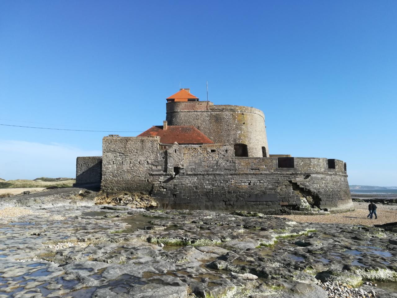 Fort Ambleteuse bei Ebbe
