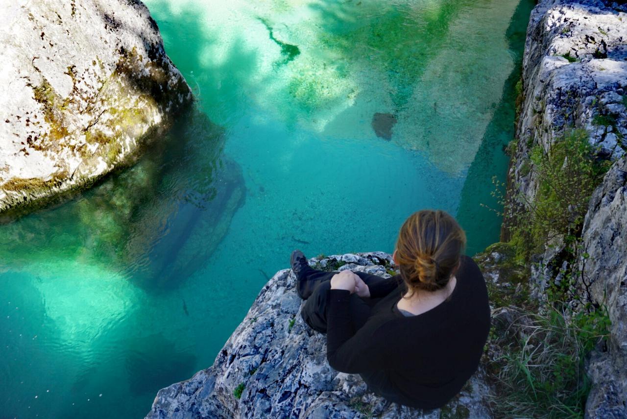 Soča Fluss in Slowenien