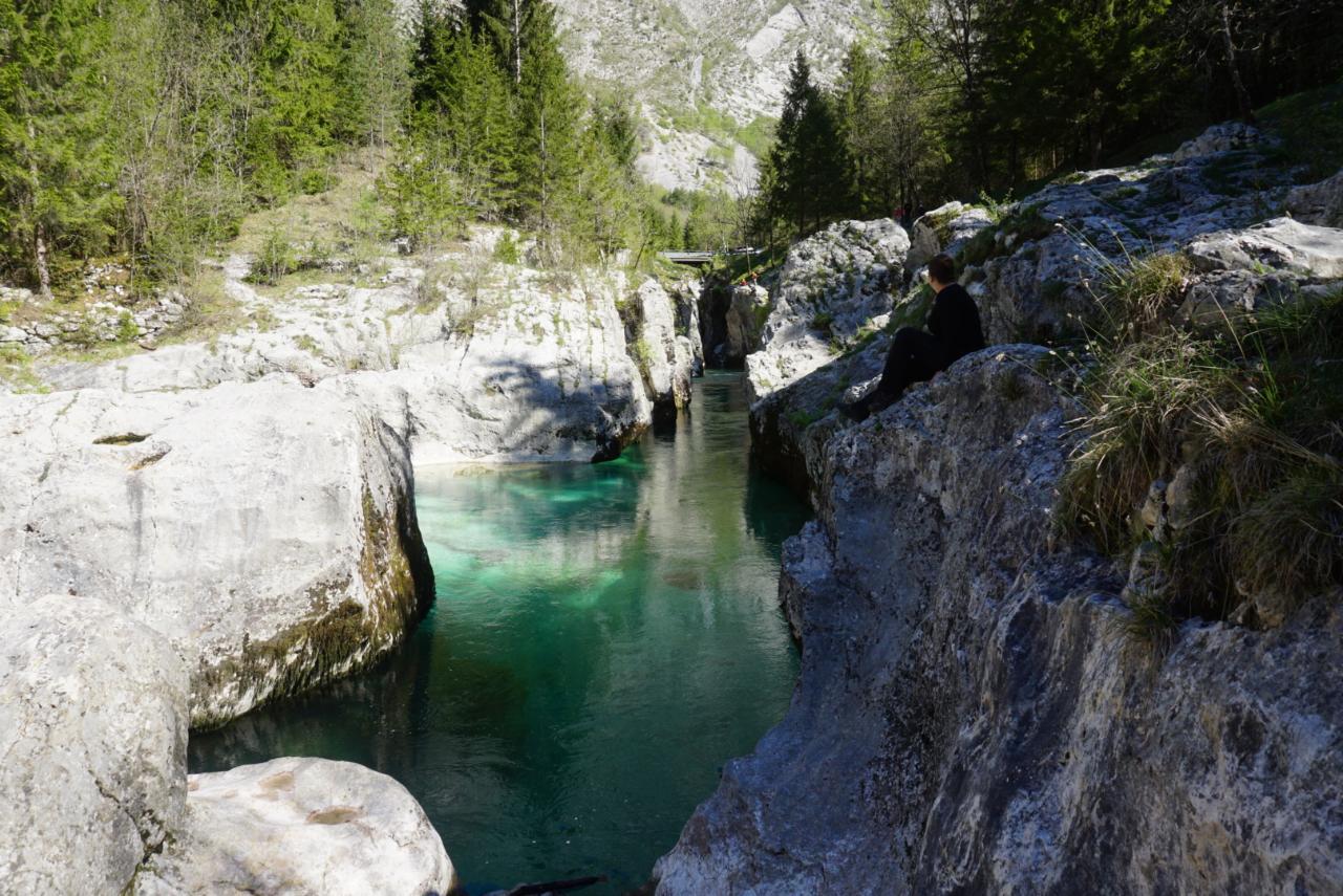 Slowenien – Soča-Trail Etappen an der Quelle und am Canyon