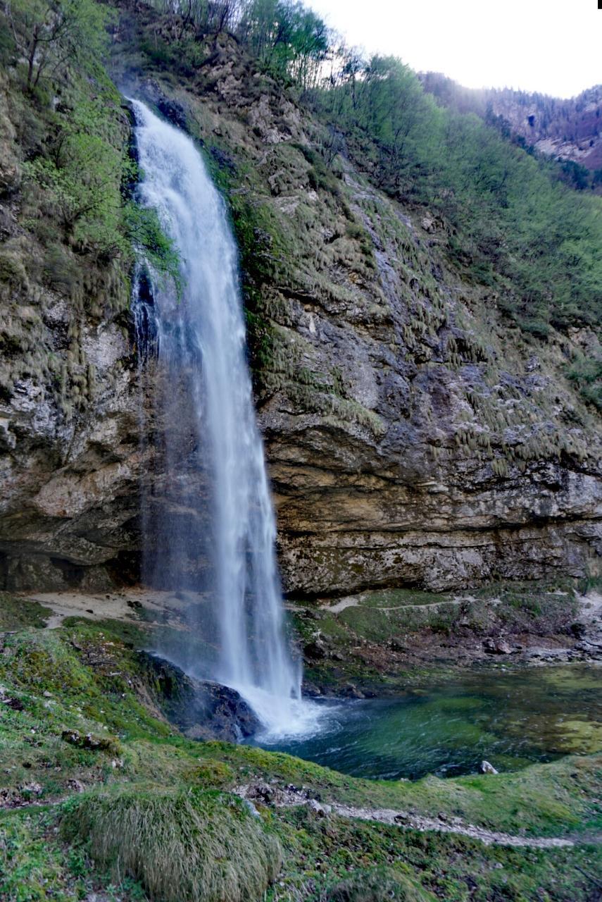 Wasserrfall Fontanone Di Goriuda