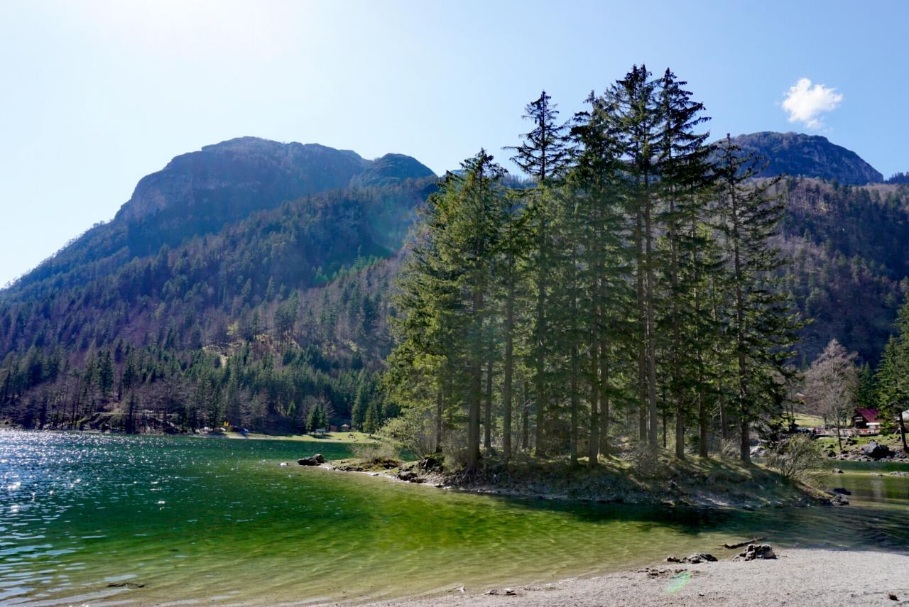 Lago del Predil Italien Insel