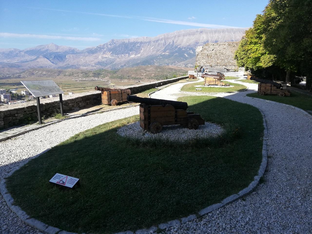 Außenbereich Burg Gjirokastra