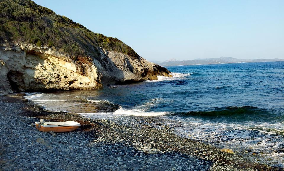Strand Camping A Stella Cap Corse