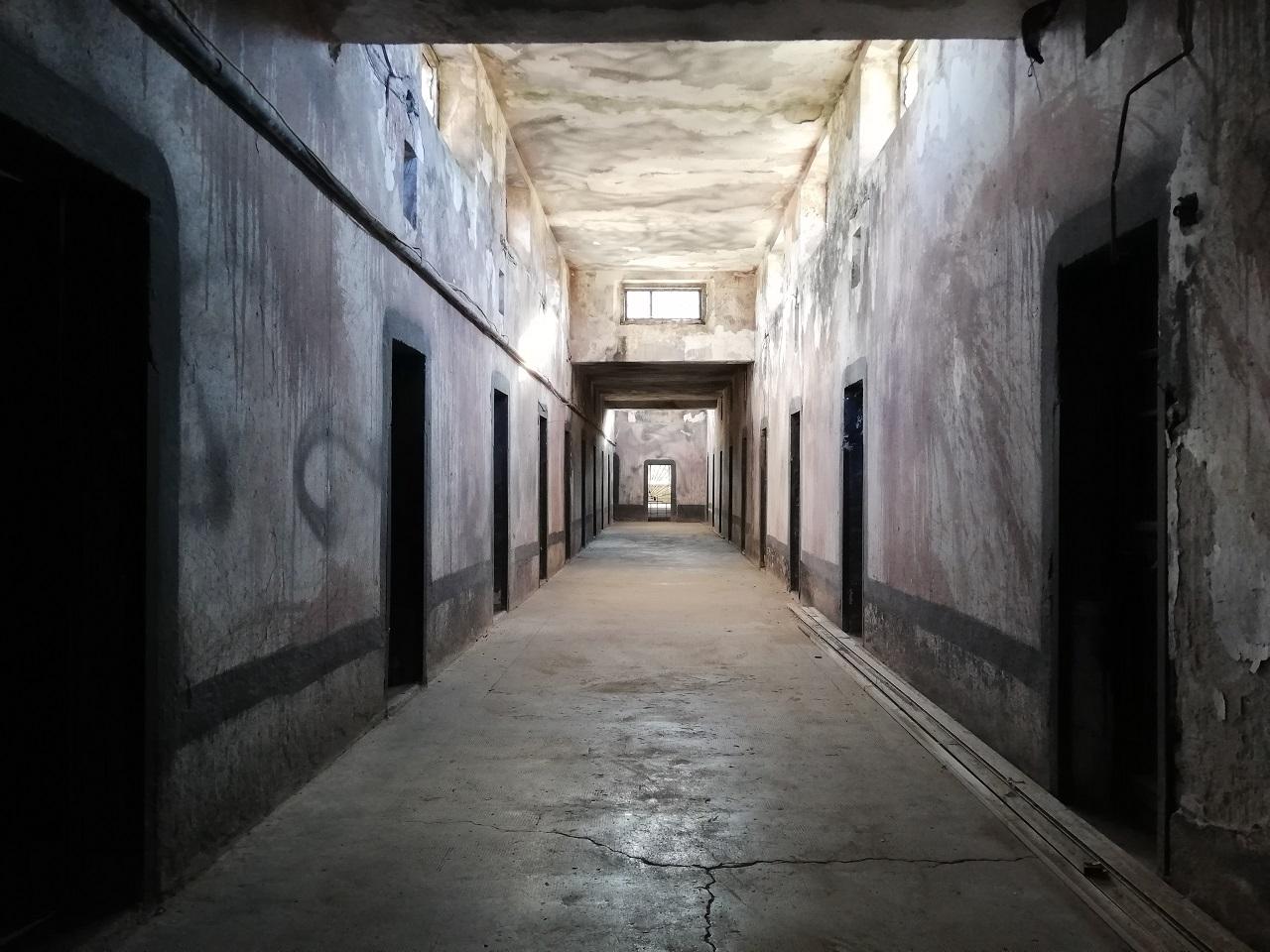 Gefängnis in der Burg Gjirokastra