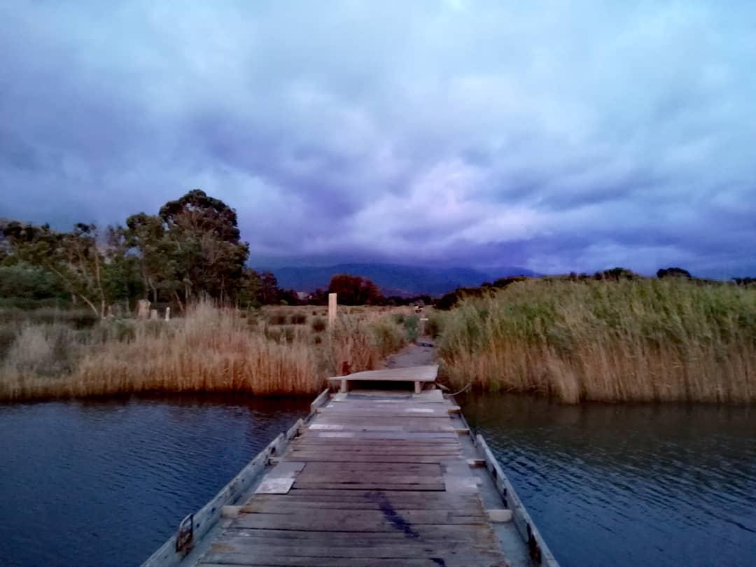 Weg zum Ostriconi Strand Korsika