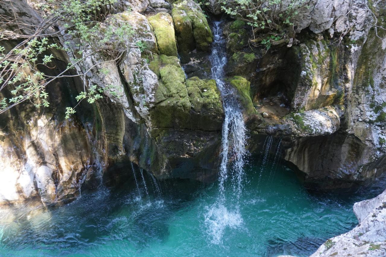 Soca Canyon Wasserfall