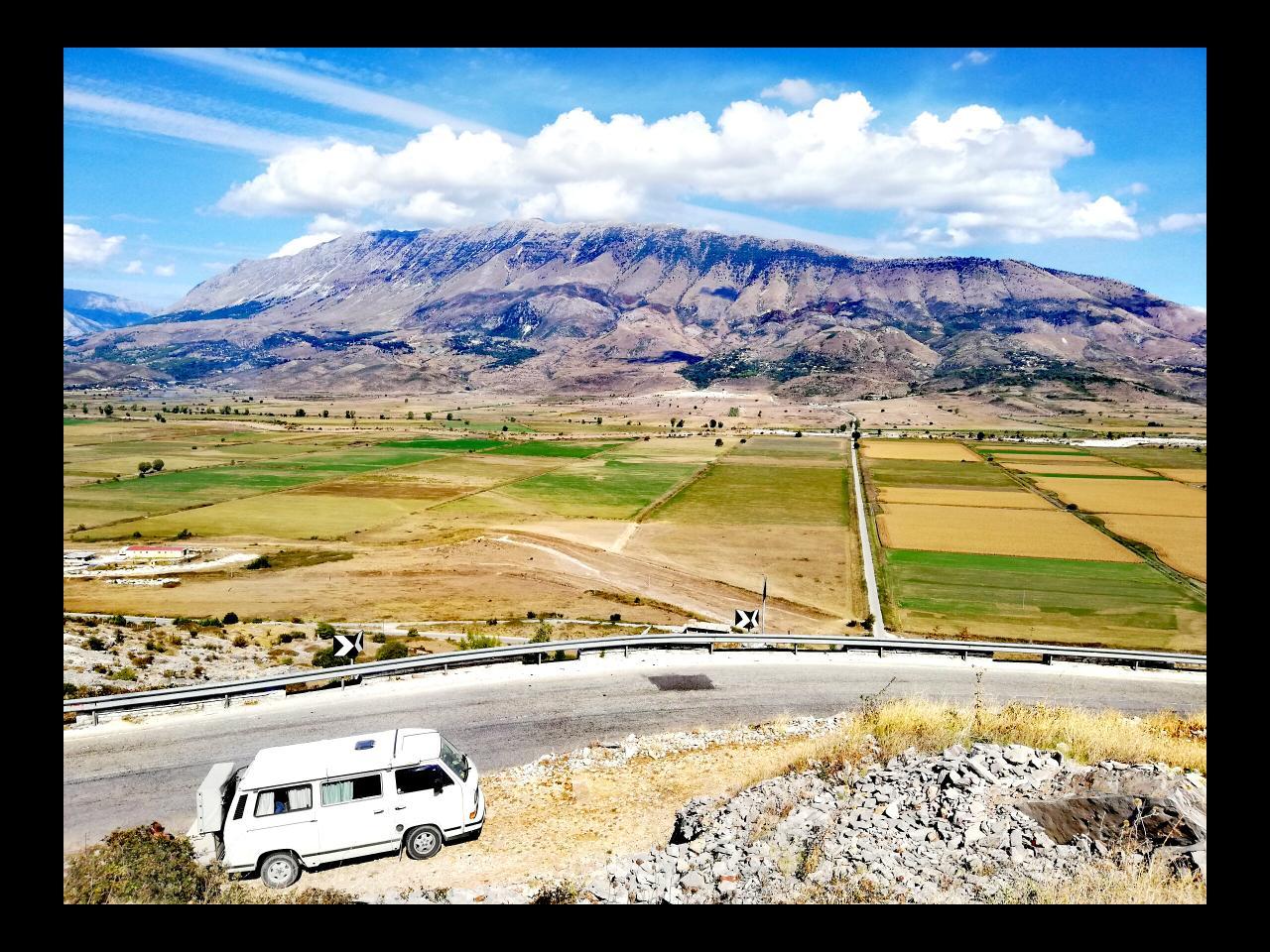 Auf der Straße nach Gjirokastra