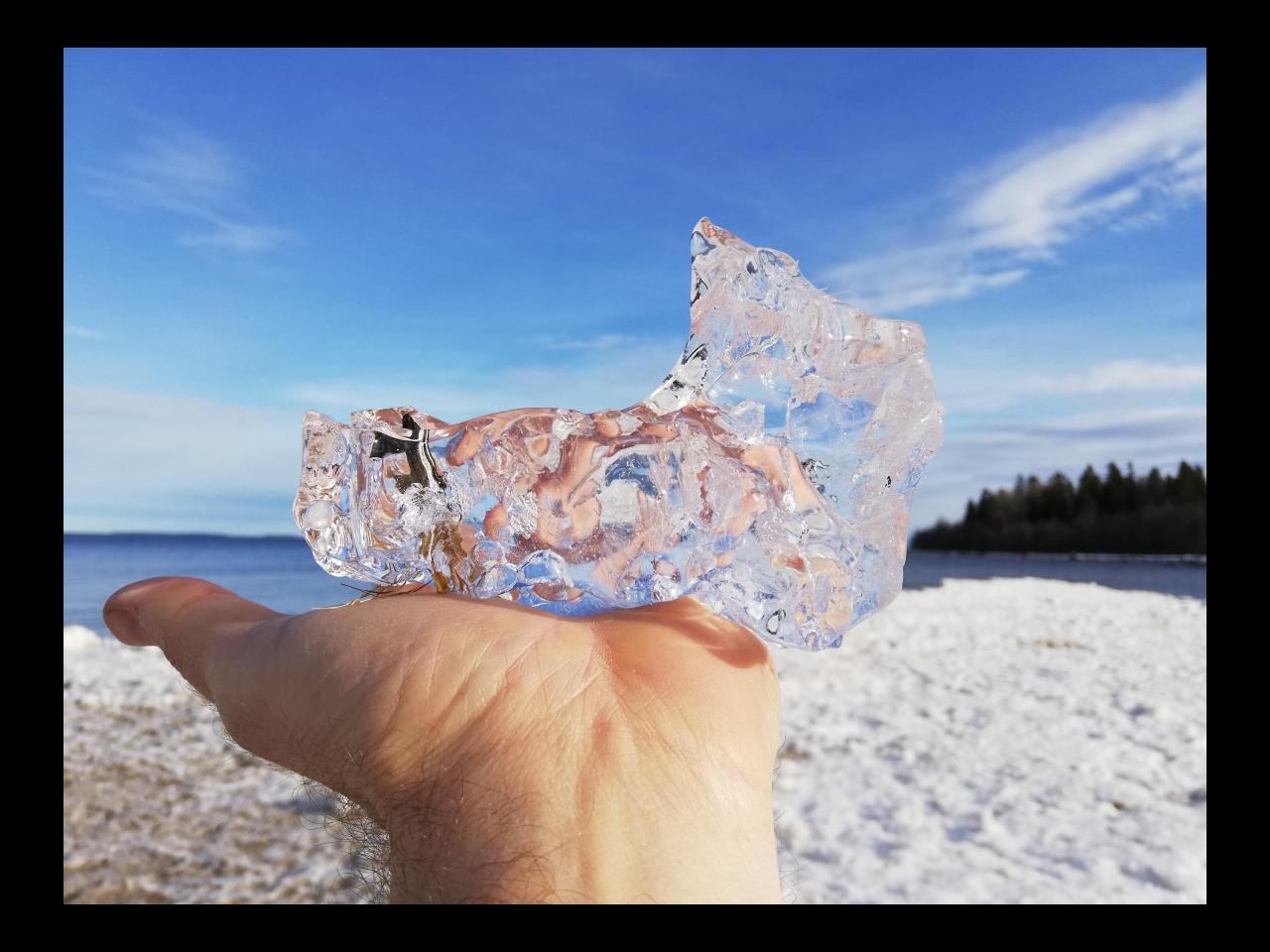 Eis in Schweden
