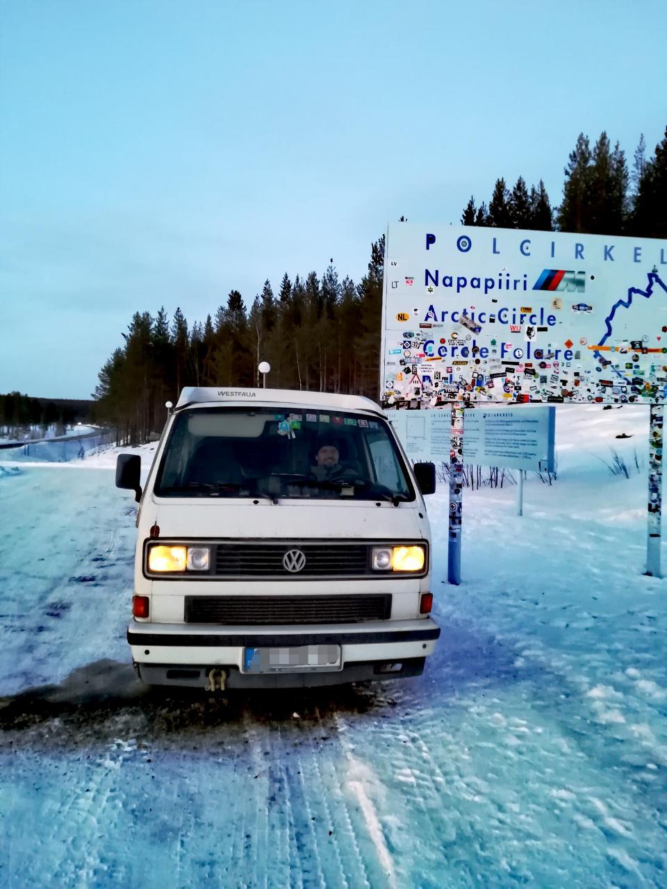 Polarkreis Lappland Jokkmokk