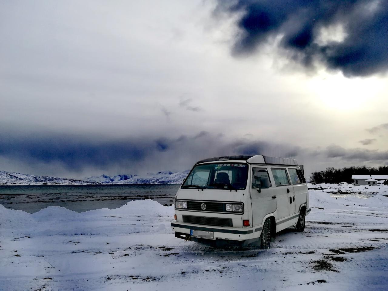 VW T3 Reise Skandinavien