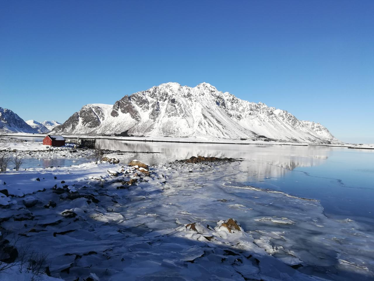 Lofoten im Winter