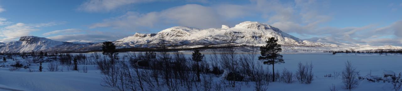 Laponia Stora Sjöfallet