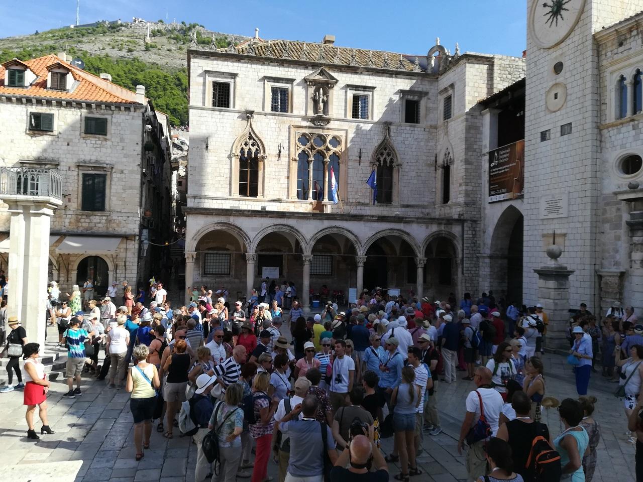 Dubrovnik am Rektor Palast