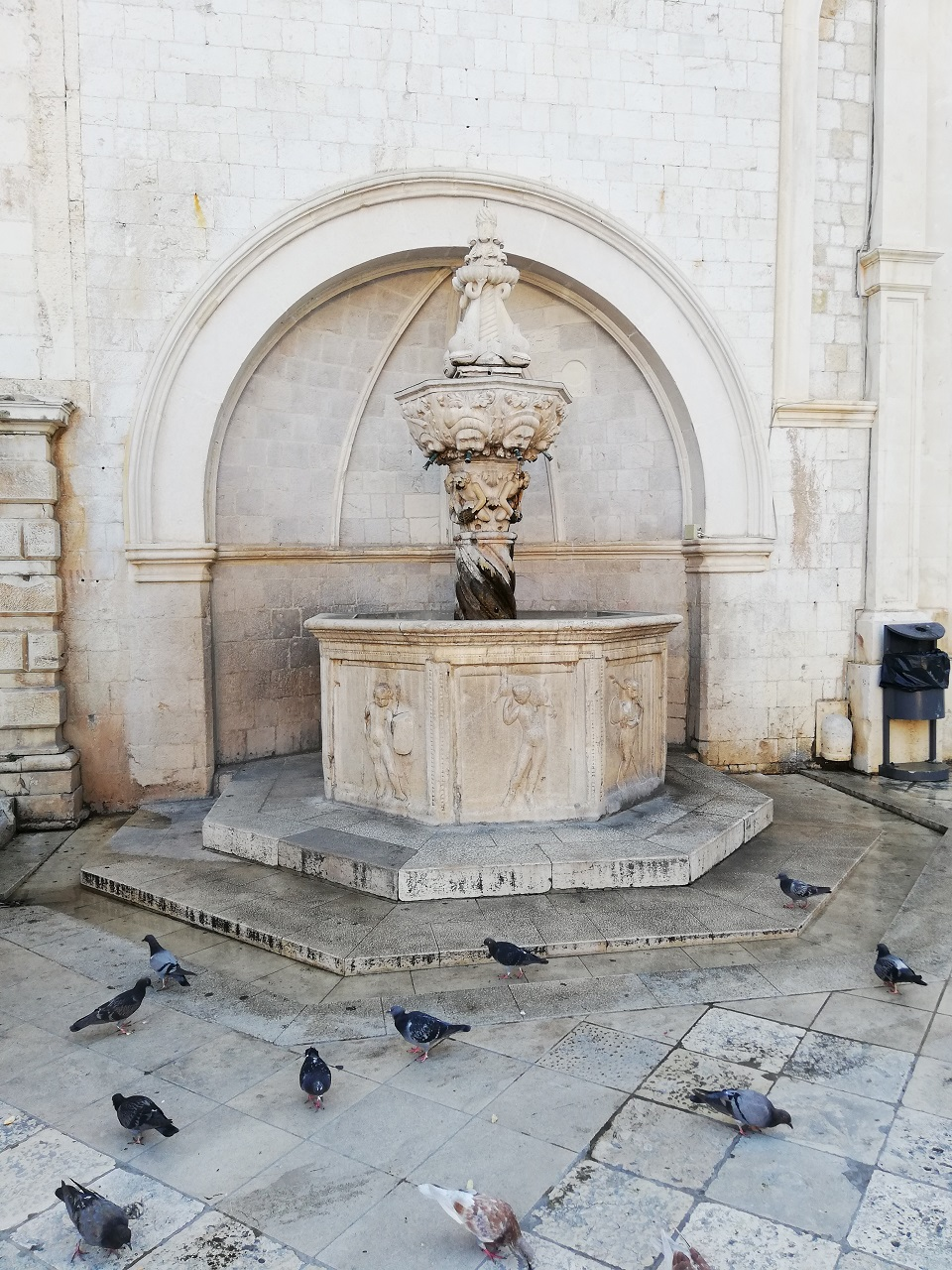 Brunnen in DUbrovnik