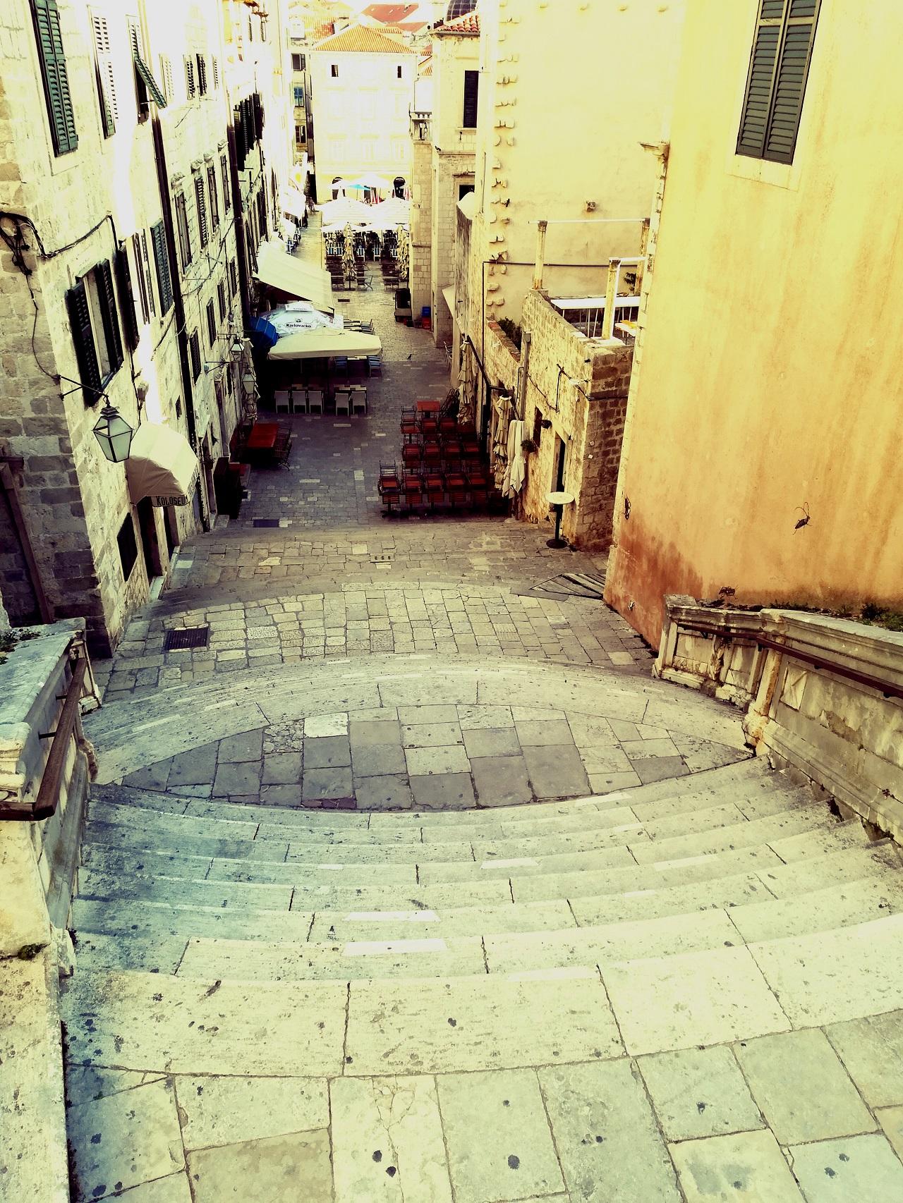 Dubrovnik Jesuitentreppe