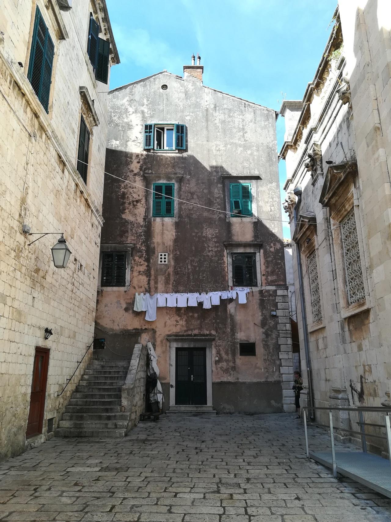 Dubrovnik Gasse bei Kathedrale