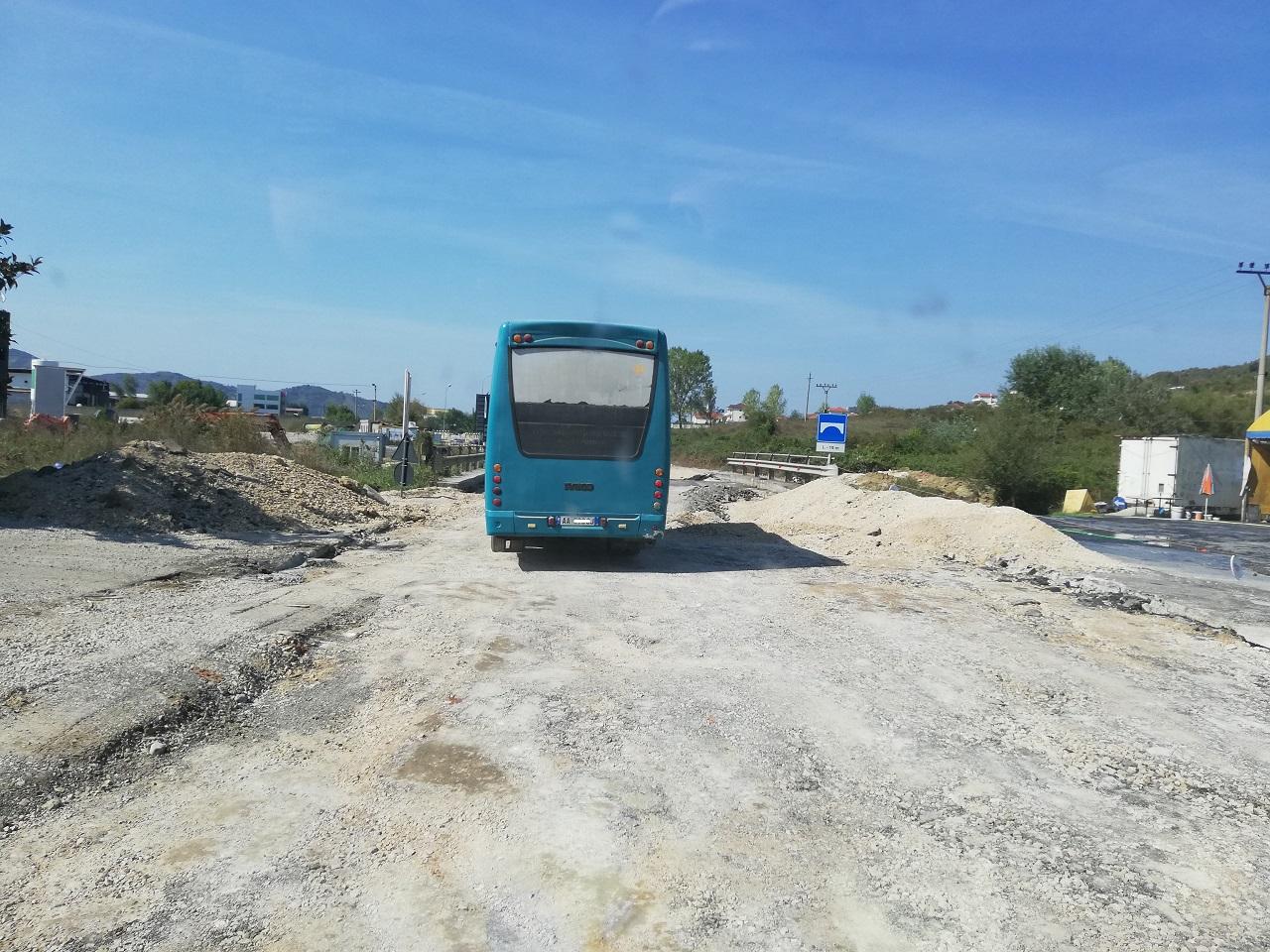 Baustelle in Albanien