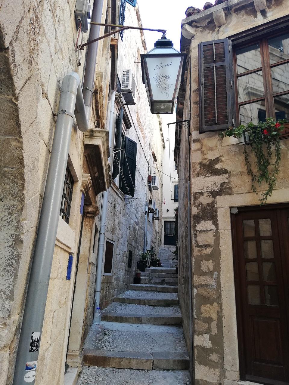 Dubrovnik einsame Gasse