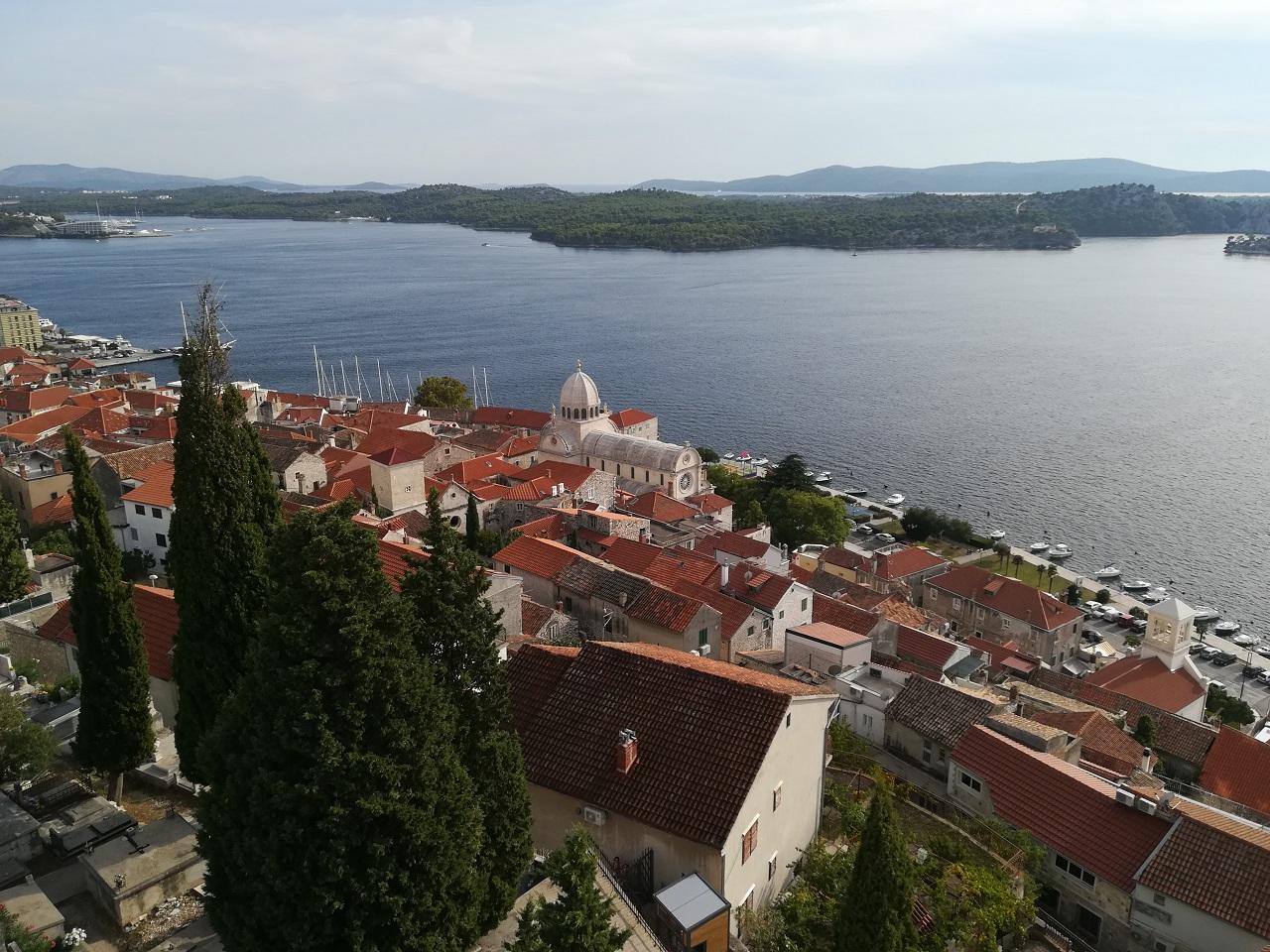 Blick von Festung St. Michael Sibenik