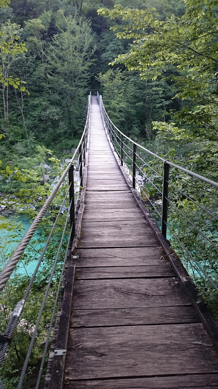 Brücke vom Camp Lazar