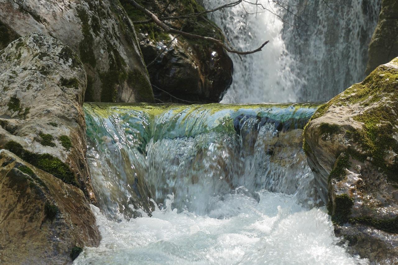 Sunik Slowenien Wasserfall
