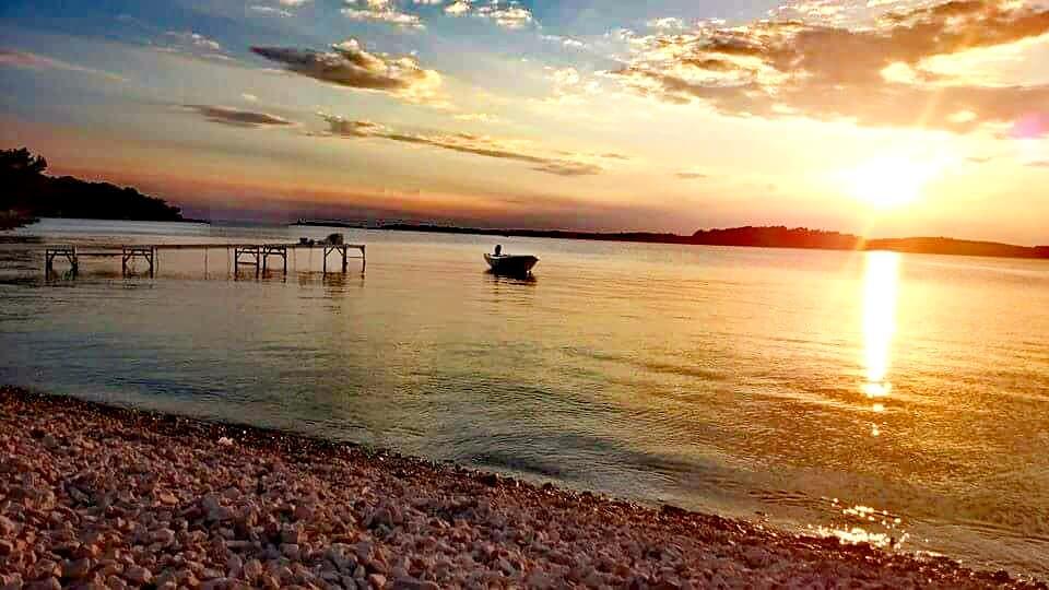 Pula Strand Kroatien