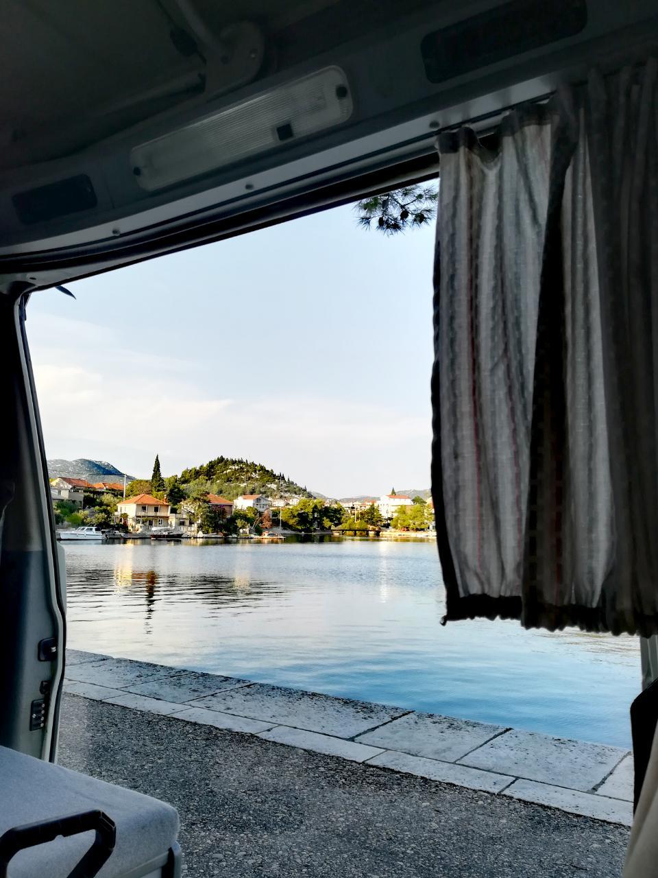 Fährhafen Ploce Kroatien