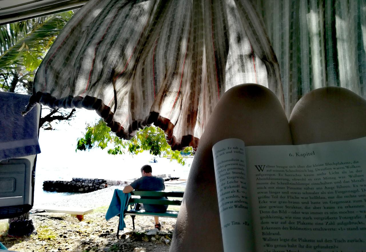 Entspannter Nachmittag in Orebic