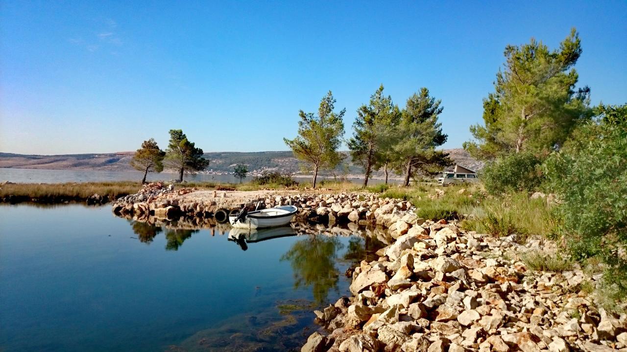 Bucht Zadar Kroatien